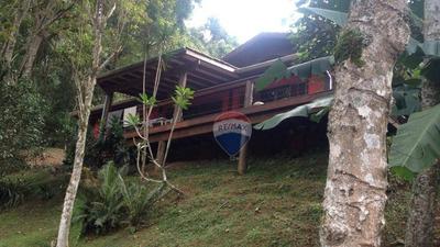 Chácara Com 3 Dormitórios À Venda, 6000 M² Por R$ 800.000 - Jardim Aracy - Mogi Das Cruzes/sp - Ch0003