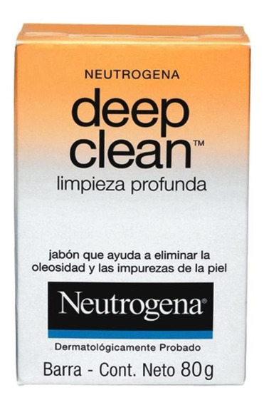 Sabonete Facial Neutrogena Deep Clean 80g