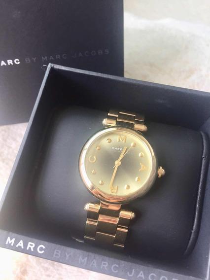 Reloj Marc Jacobs Dorado Hermoso