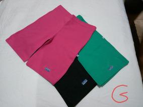 Kit C/03 Short Cotton, Tamanho G