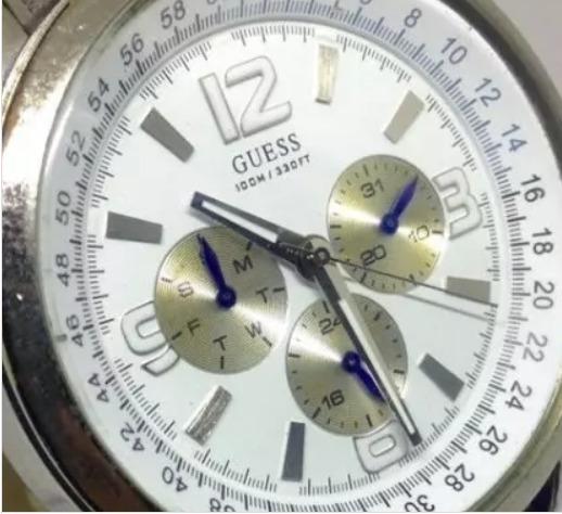 Relógio De Pulso Guess Masculino Quartz T04164 Webclock
