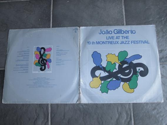 Lp - João Gilberto - Live At The 19th Montreux Jazz Festival