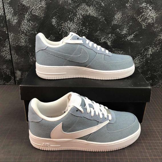 Tênis Nike Air Force One Blue Ts