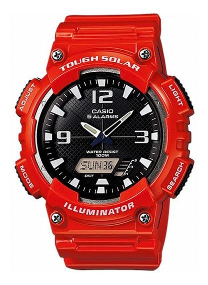 Relógio Casio Standard Masculino Tough Solar Aq-s810wc-4avdf