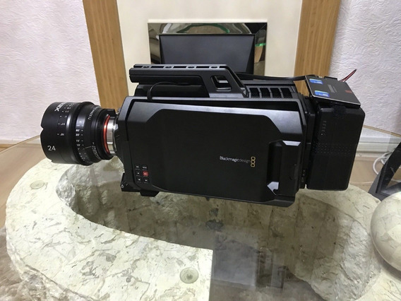 Blackmagic Design Ursa 4k Digital Cinema - Xeen 24mm T1.5