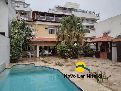 Imagem 1 de 15 de Excelente Casa Triplex Em Piratininga Com 4 Quartos Próximo A Praia - 291