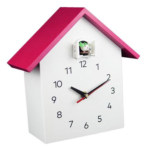 Imagen 1 de 9 de Regalo De Cumpleaños Del Reloj Decorativo Silencioso Rosa