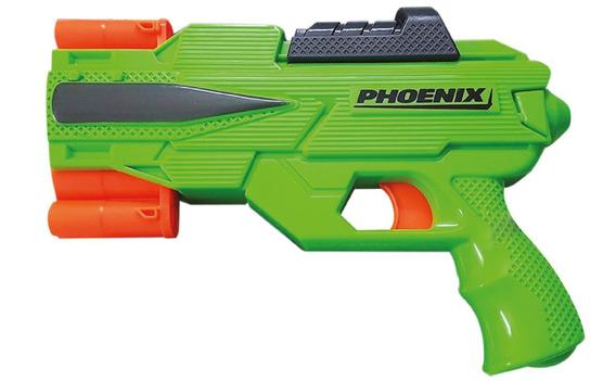 Phoenix Pistola Con 6 Dardos