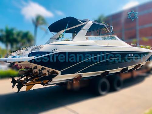 Lancha Real 41 Barco Iate N Ferreti Azimut Intermarine