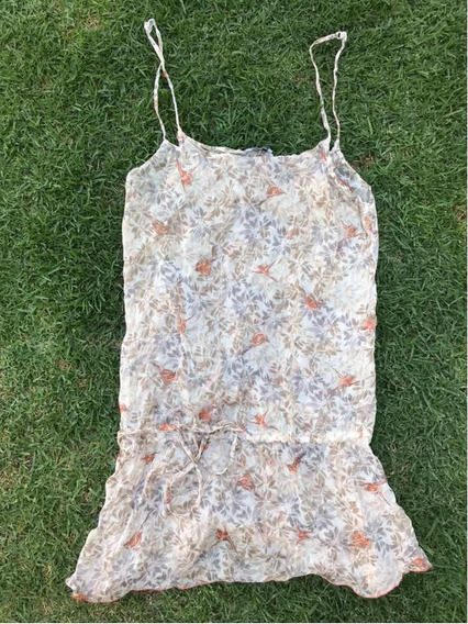 Hermosa Blusa Vestido Intimissimi 100% Seda