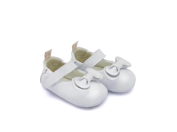Sapato Tip Toey Joey Bebe Care Patent White Branco - 35018