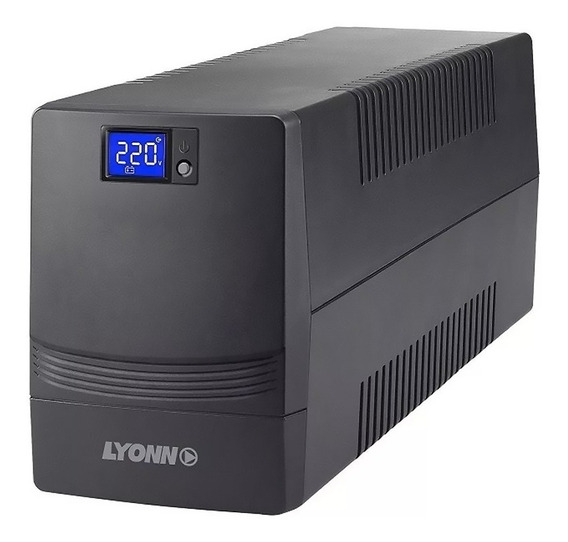 Ups + Estabilizador Lyonn Ctb-1200ap 1200va Display 1200w