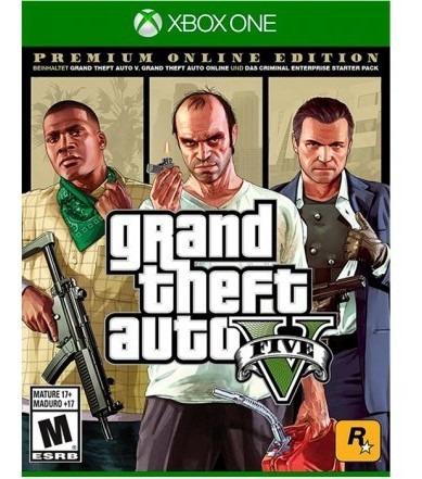 Juego Xbox One Grand Theft Auto V Pe Juego Xbox One Tk375