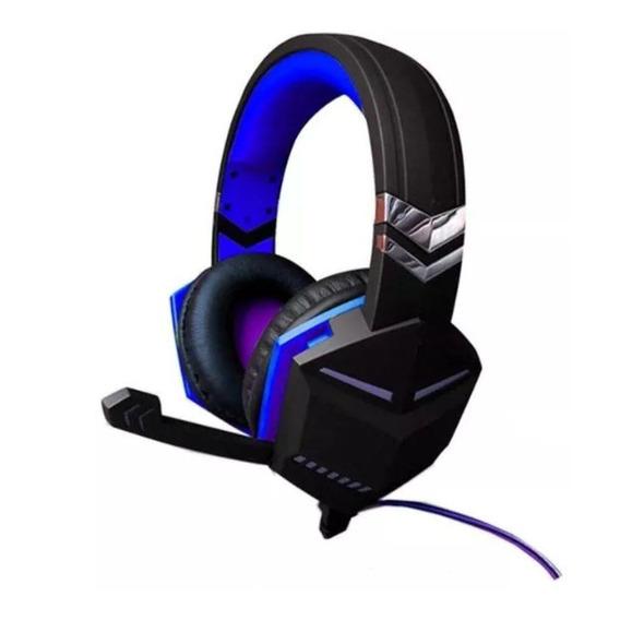 Fone Headset Feir Gamer Pc Note Ps3 Xbox Fr-510 Usb Azul