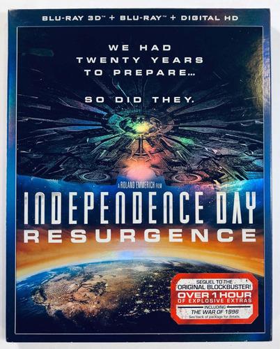 Día De La Independencia -resurgence- Blu Ray 3d