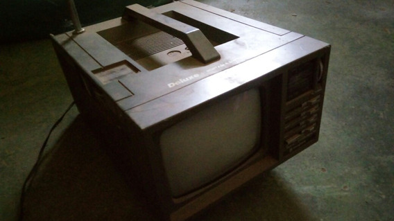 Tv 5 Polegadas Com Radio Am E Fm Funcionando Tudo