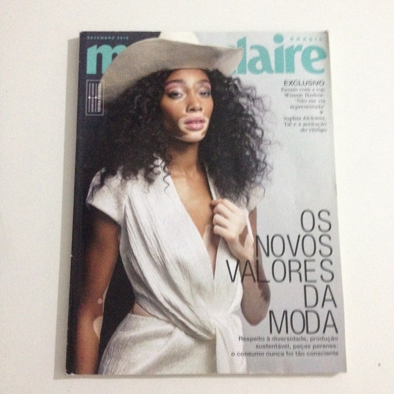 Revista Marie Claire Set2018 N330 Winnie Harlow Tiê Moda C2