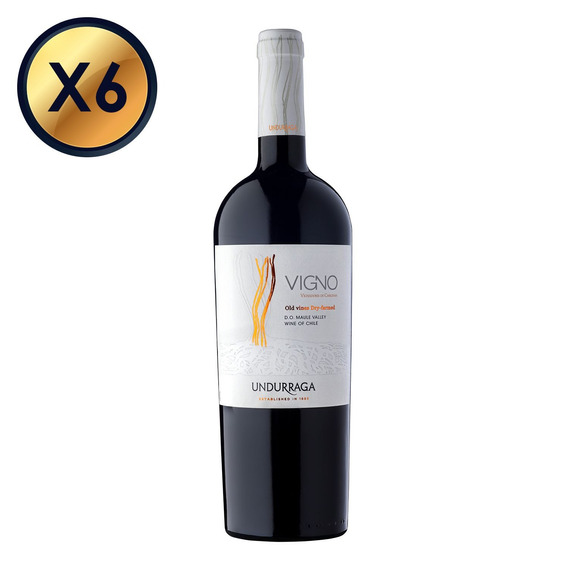Undurraga Vigno Carignan 750cc - Pack 6 Botellas