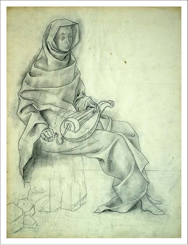 Imagen 1 de 3 de Lienzo, Tela, Remedios Varo, Vuelo Magico, 70x53cm