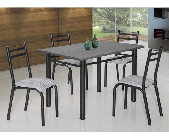 Conjunto Mesa Com 4 Cadeiras Plaza Clássica Ciplafe Db
