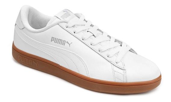 Tênis Couro Puma Smash V2 - Original