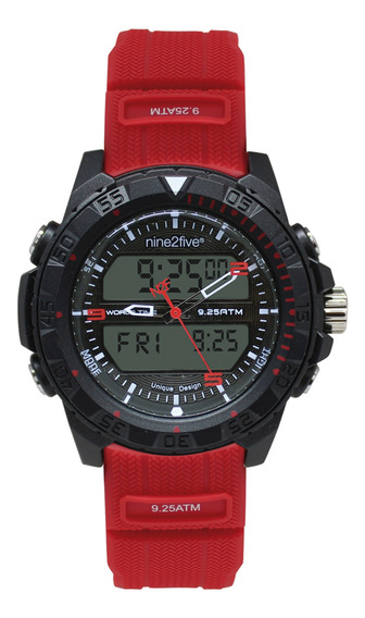 Reloj Original Caballero Marca Nine2five Modelo Dlgs11rjdg