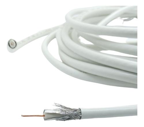 Cable Coaxial Rg6 Por Metro Internet Cable Modem Television