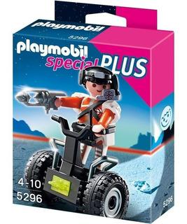 Playmobil Special Plus 5296 Agente Espacial Con Vehiculo