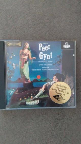 C D Peer Gynt - Grieg - Fjelstad Banhado A Ouro 24 K