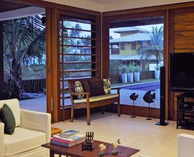 Casa Em Condomínio De Luxo 5 Suítes 429m2 Na Praia Do Forte - Lit966 - 32753616