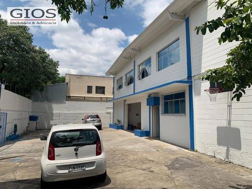 Galpão À Venda, 906 M² Por R$ 5.500.000,00 - Limão (zona Norte) - São Paulo/sp - Ga0237