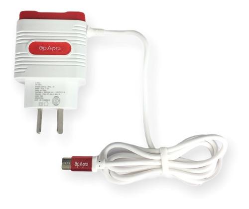 Cargador Rápido 3.1 Amper Cable Micro + 3 Usb Carga Rápida