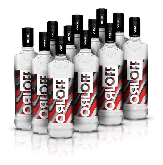 Kit Vodka Orloff 1l - 12 Unidades