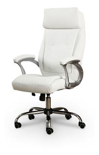Cadeira Presidente P/ Escritório Almofadada Giratória