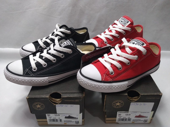 Tênis Infantil Converse All Star Border Kit Com 2 Cv04