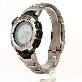 Prg-110t Relógio Casio Protrek Titanio Alti Baro Term Solar