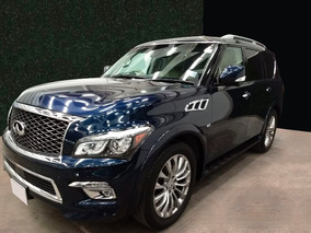 Infiniti Qx80 5.6l Perfection 8 Pasajeros At