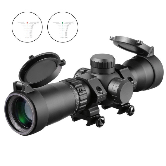 Anillo Ma3ty 1.5-5x32 Crossbow Scope With 20-100 Yards