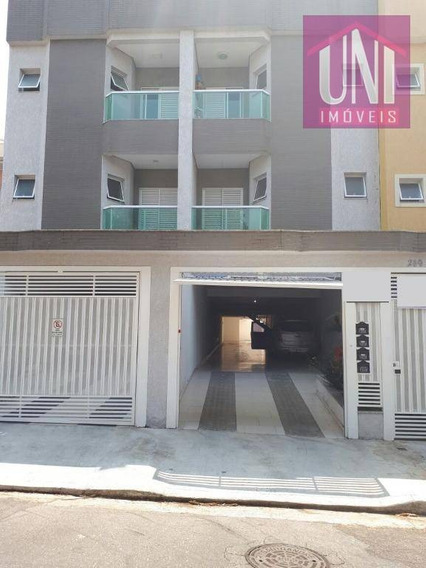 Apartamento Residencial À Venda, Jardim Santo Antônio, Santo André. - Ap1195