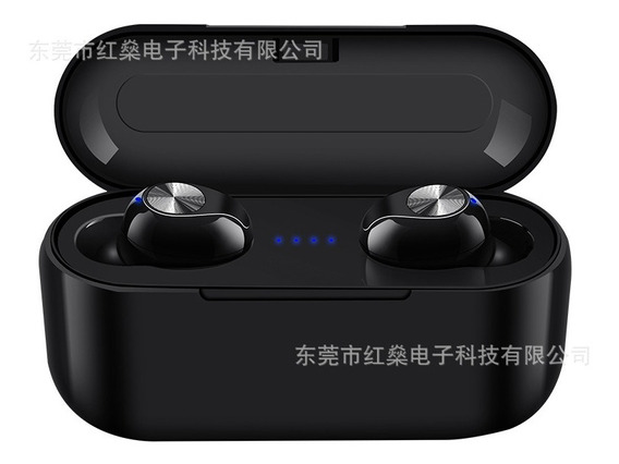 Preto Som Tws 5.0 Bluetooth Headset 5.0 Bluetooth Headset