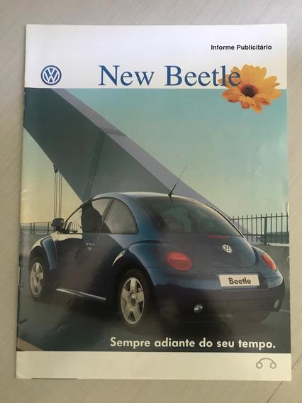 Catálogo New Beetle - Brochura Lançamento - Brasil