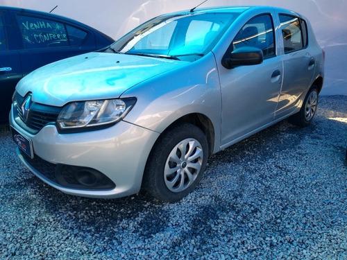 Renault Sandero Authentique 1.0 2015 90.000 Km Rodados Novo