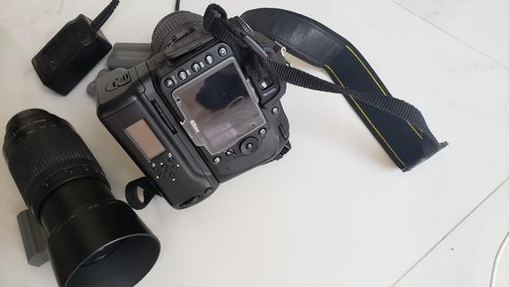 Nikon D90, Teleobjetiva 70mmx300mm