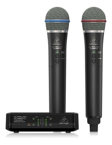 Microfone Sem Fio Ulm302mic Behringer Digital 2.4ghz Nfe