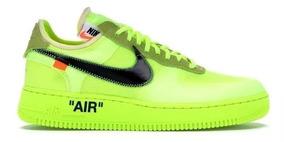 Nike Air Force 1 Off-white Low Volt Lançamento