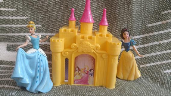 Castelo Princesa Disney Com 2 Princesas Branca De Neve E Cin