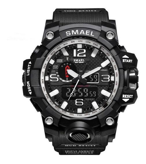 Relógio Masculino Smael 1545 Pulso Digital Militar Masculino