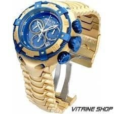 Relógio Invicta Grand Bolt 21347 Original Ouro 18k