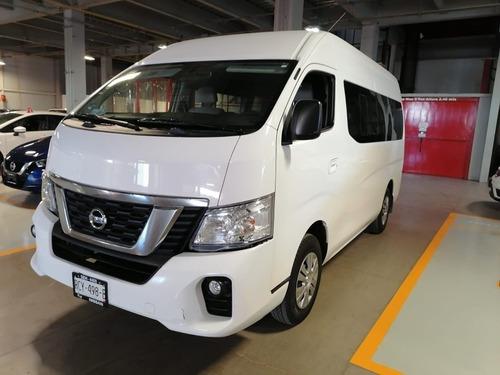 Imagen 1 de 15 de Nissan Urvan 2018 2.5 15 Pas Ampliapack Seg Die Mt