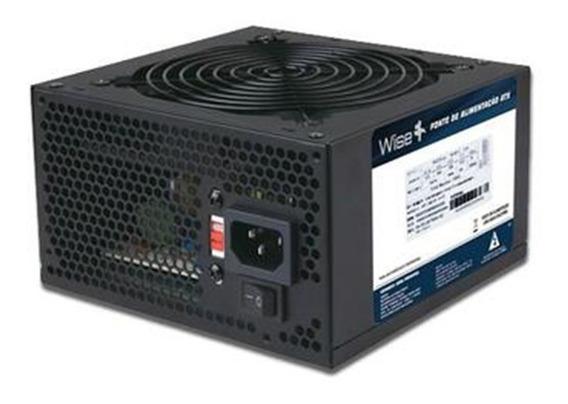 Fonte Atx 600w Wisecase Real P/ Computador Gamer - Oferta